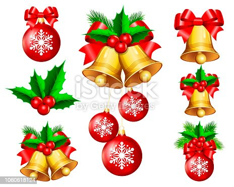 Group of Christmas Bells