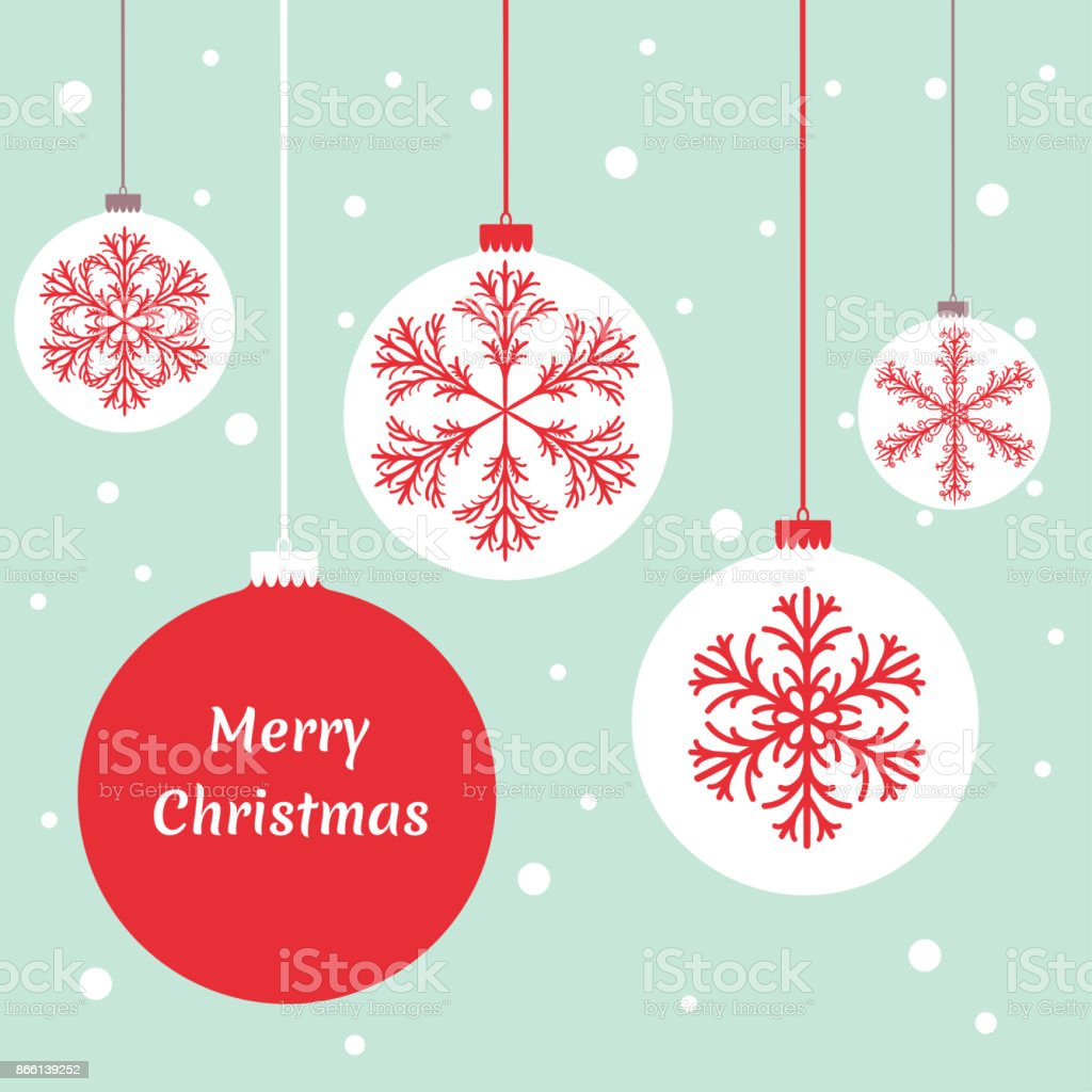 Christmas Decorations Balls Gold New Years Vector Background