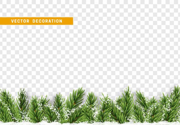 ilustrações de stock, clip art, desenhos animados e ícones de christmas decorations. - background christmas snow