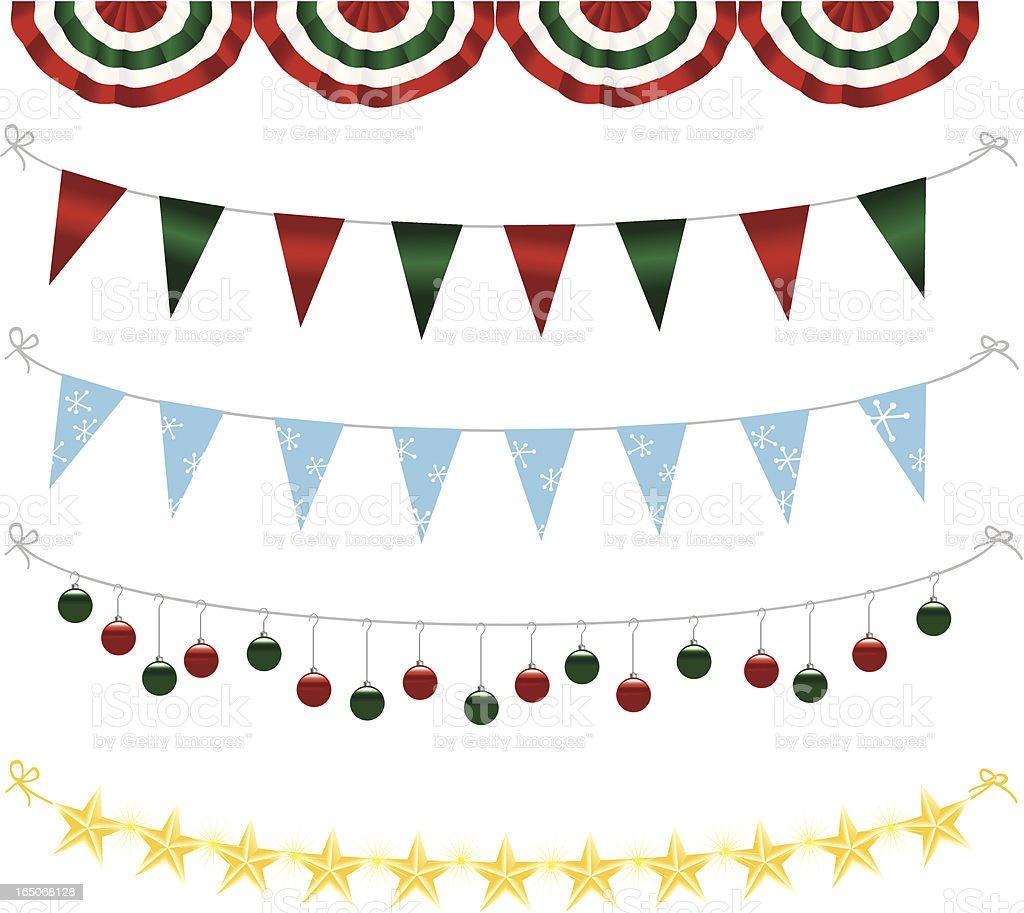 Decoración de Navidad - ilustración de arte vectorial