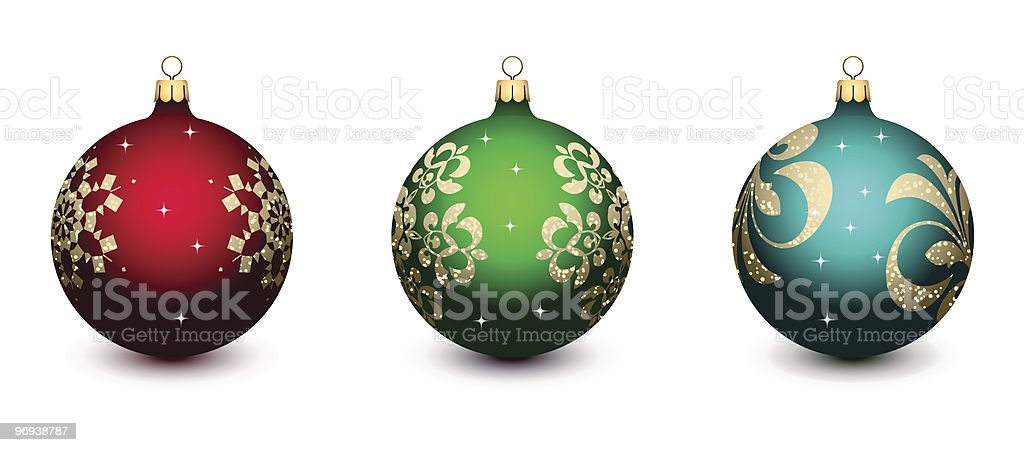Christmas decorations royalty-free christmas decorations stock vector art & more images of ball