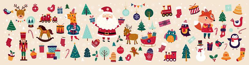 Christmas decorative banner
