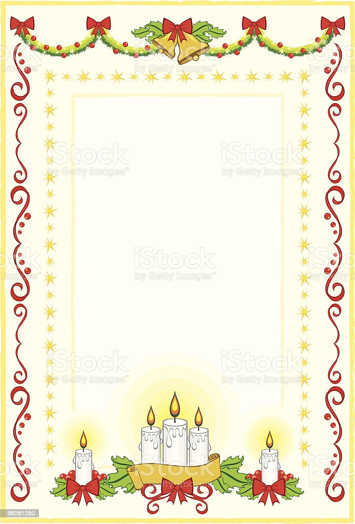 Christmas Decorative Frame royalty-free christmas decorative frame stock vector art & more images of bell