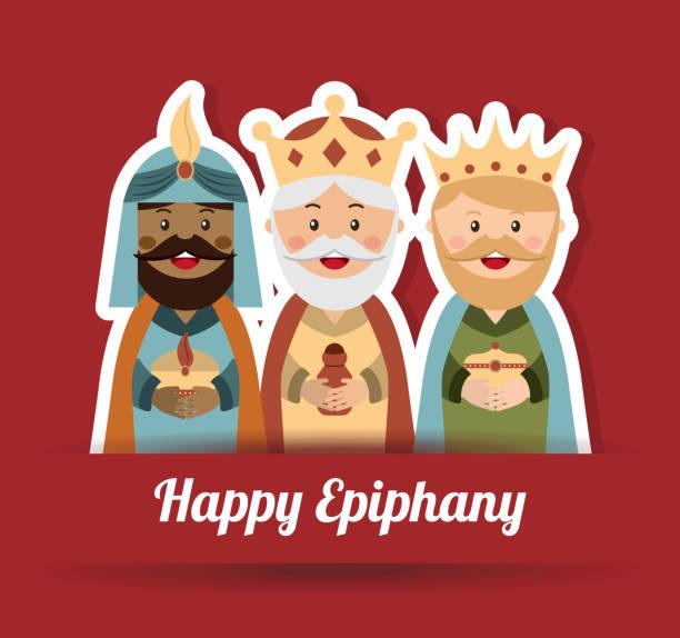 ilustrações de stock, clip art, desenhos animados e ícones de design de natal - reis magos