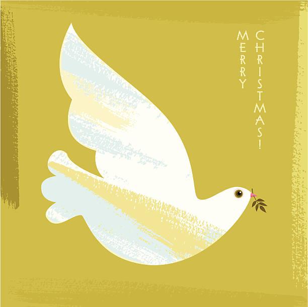 illustrazioni stock, clip art, cartoni animati e icone di tendenza di natale colomba - love word