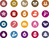 Christmas Element Color Icons