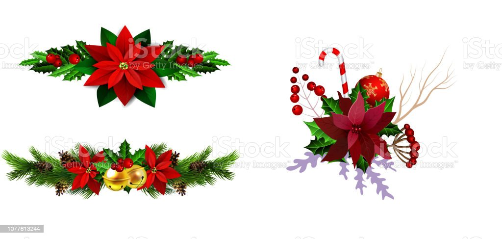 Christmas Designs.Christmas Elements For Your Designs Stock Illustration Download Image Now