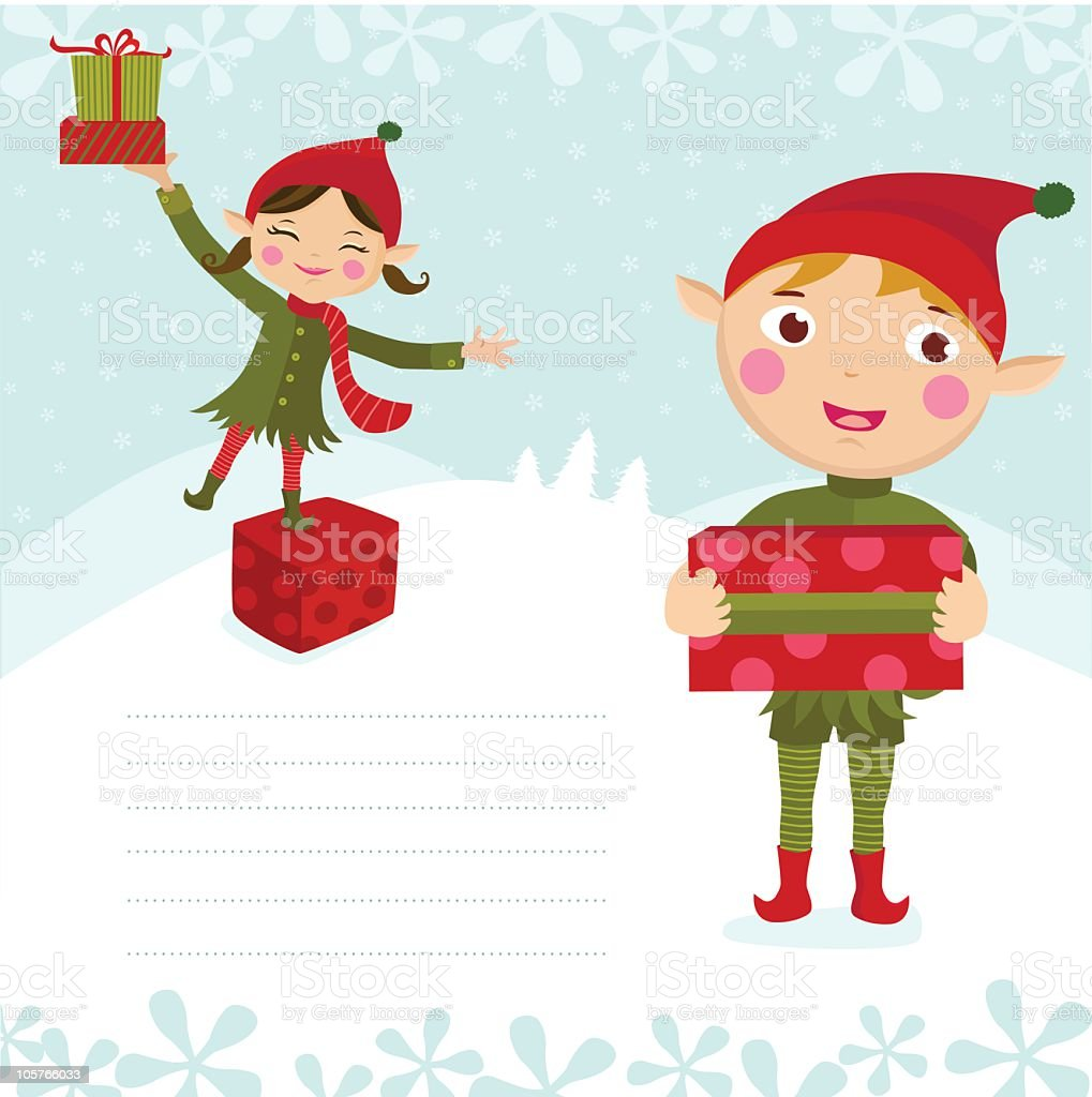 Christmas Elves royalty-free christmas elves stock vector art & more images of adult