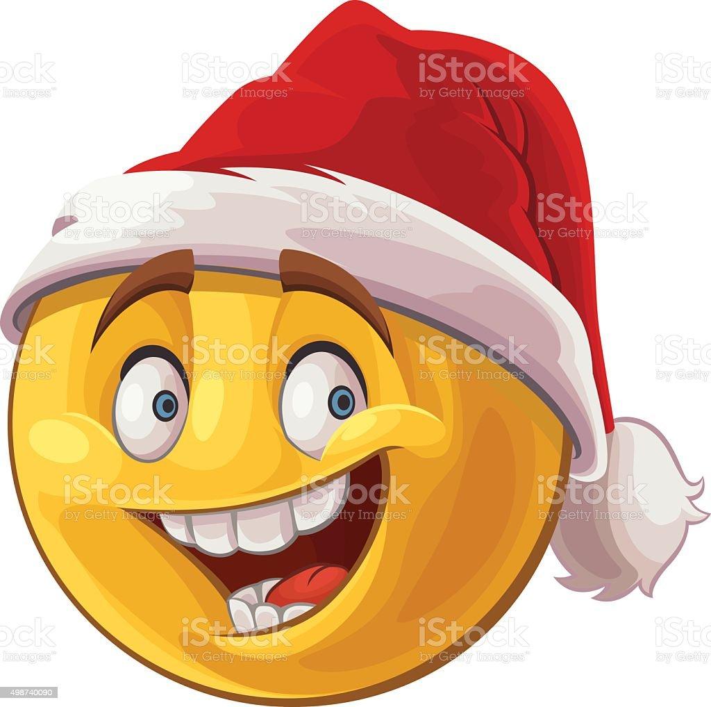 Weihnachten Emoticon Stock Vektor Art und mehr Bilder von 2015 ...