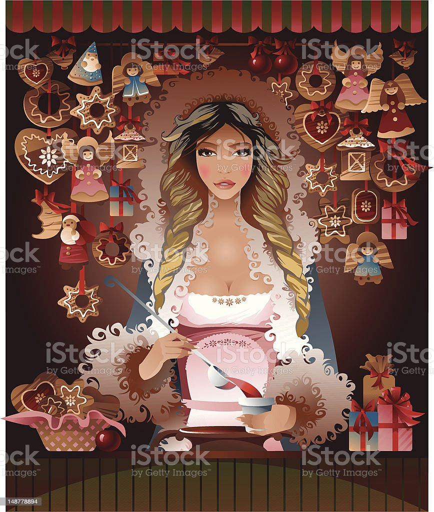 Christmas fair royalty-free christmas fair stock vector art & more images of adult
