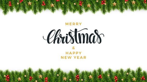 聖誕冷杉背景, 逼真的外觀, 節日設計 - 圖畫 藝術品 幅插畫檔、美工圖案、卡通及圖標