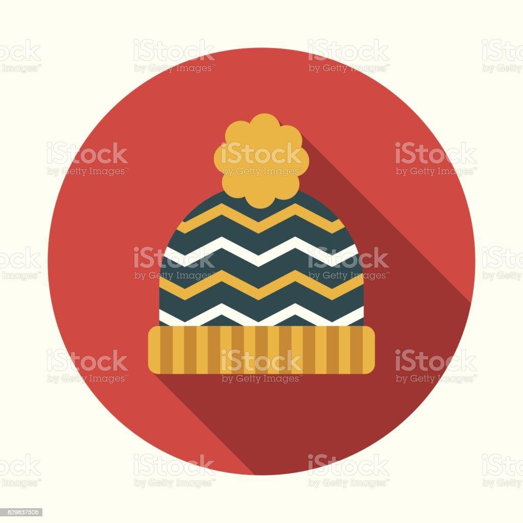 22313cc6d5ab3 Christmas Flat Design Icon  Toque royalty-free christmas flat design icon  toque stock vector