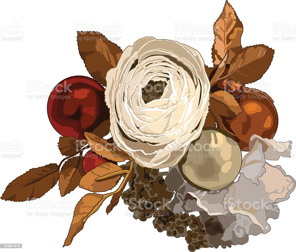 Christmas flowers royalty-free christmas flowers stock vector art & more images of beauty in nature