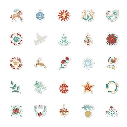 Christmas Folk Art Sticker Set