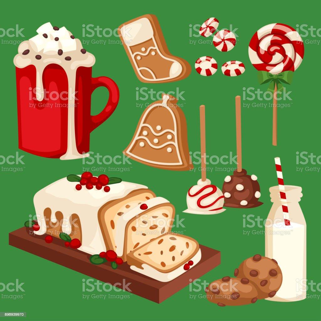 Weihnachtsessen Und Desserts Urlaub Dekoration Weihnachten Susse