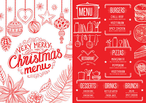 Royalty Free Holiday Table Setting Clip Art, Vector Images ...
