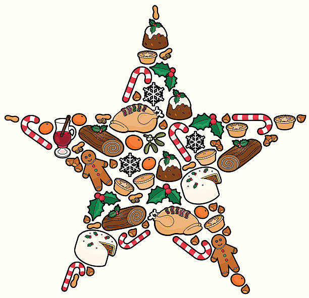 Best Mince Pies Illustrations, Royalty-Free Vector ...
