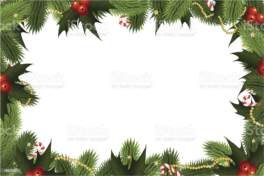 Ilustración de Christmas Marco De y más Vectores Libres de ...