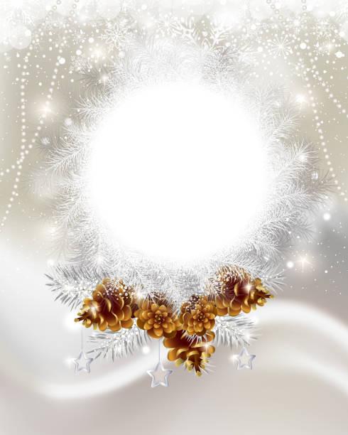 クリスマスフレーム - 休日/季節ごとのイベント点のイラスト素材/クリップアート素材/マンガ素材/アイコン素材