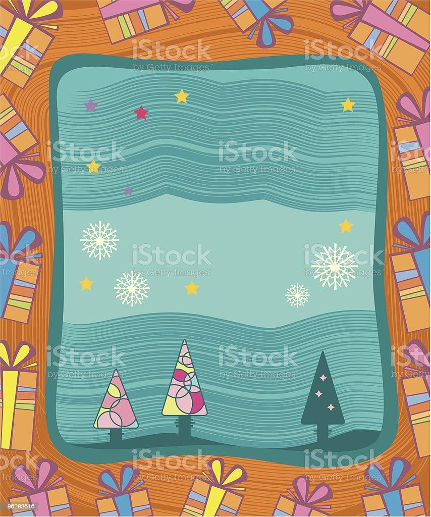 Christmas frame  Christmas stock vector