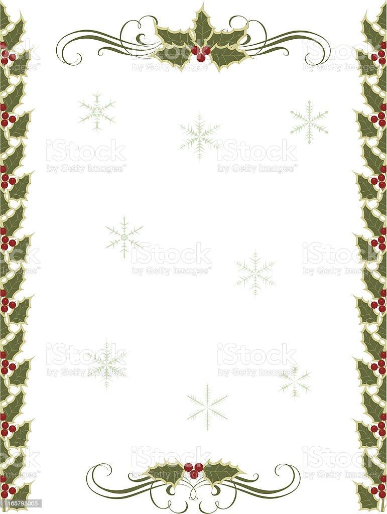 Weihnachten Frames Vektor Illustration 165795005 | iStock