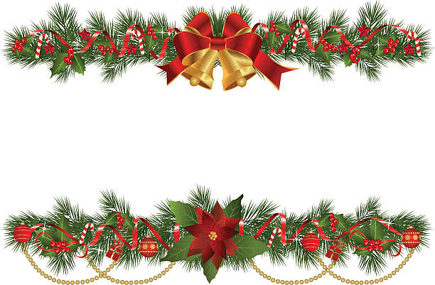 Best Garland Illustrations, Royalty-Free Vector Graphics ...