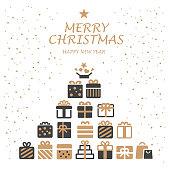 Christmas, Gift Box,