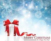 Christmas Gift Box. EPS 10.