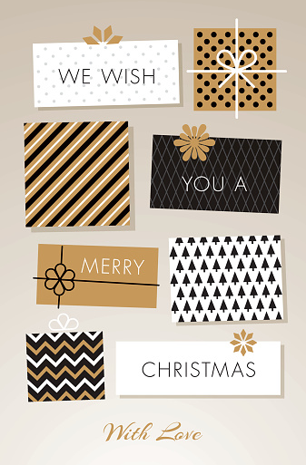 Christmas Gift Boxes Illustration Stock Illustration - Download Image Now