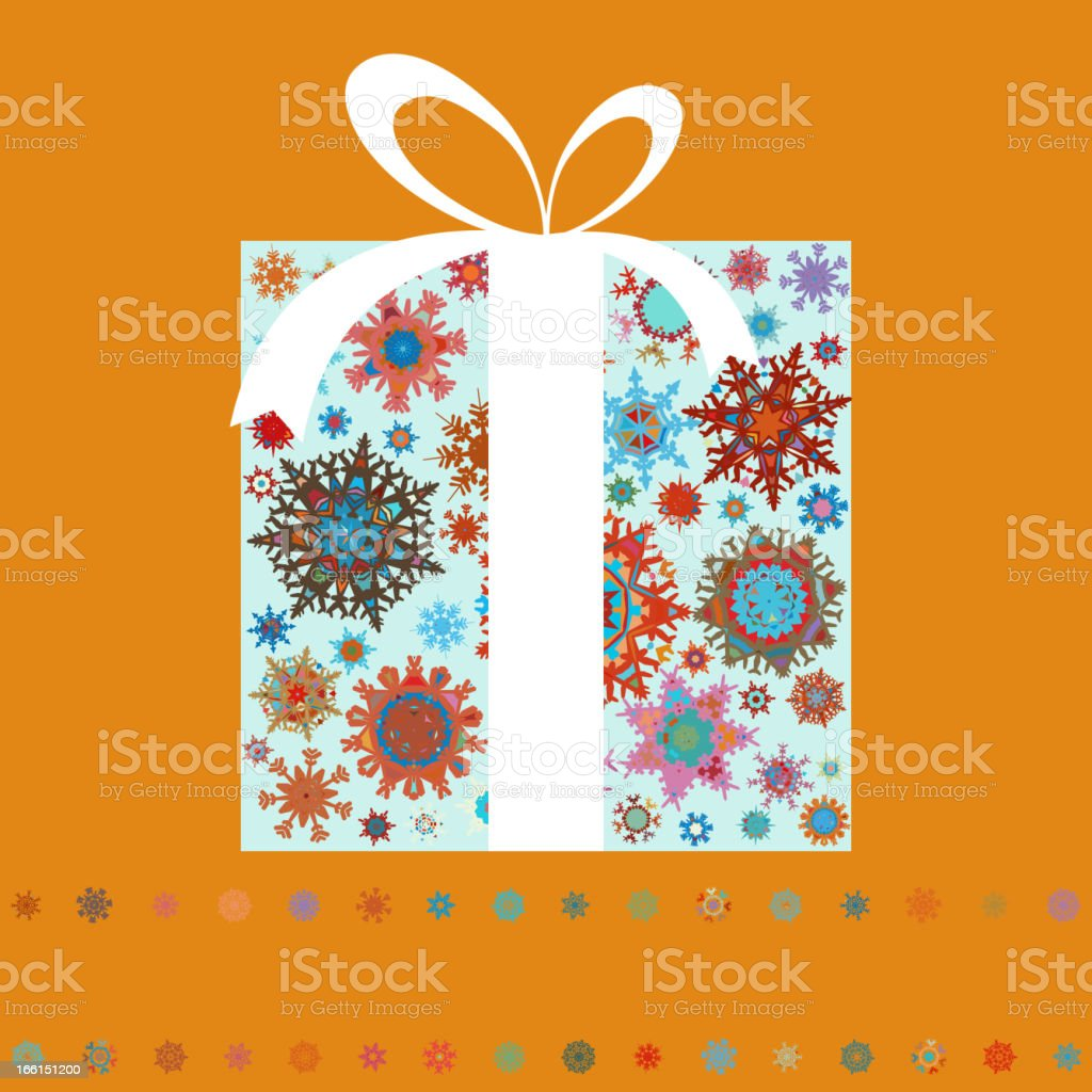 Christmas gift boxes made from snowflakes. EPS 8 royalty-free christmas gift boxes made from snowflakes eps 8 stock vector art & more images of abstract