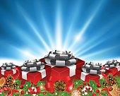 Gift Box Set. EPS 10 file.