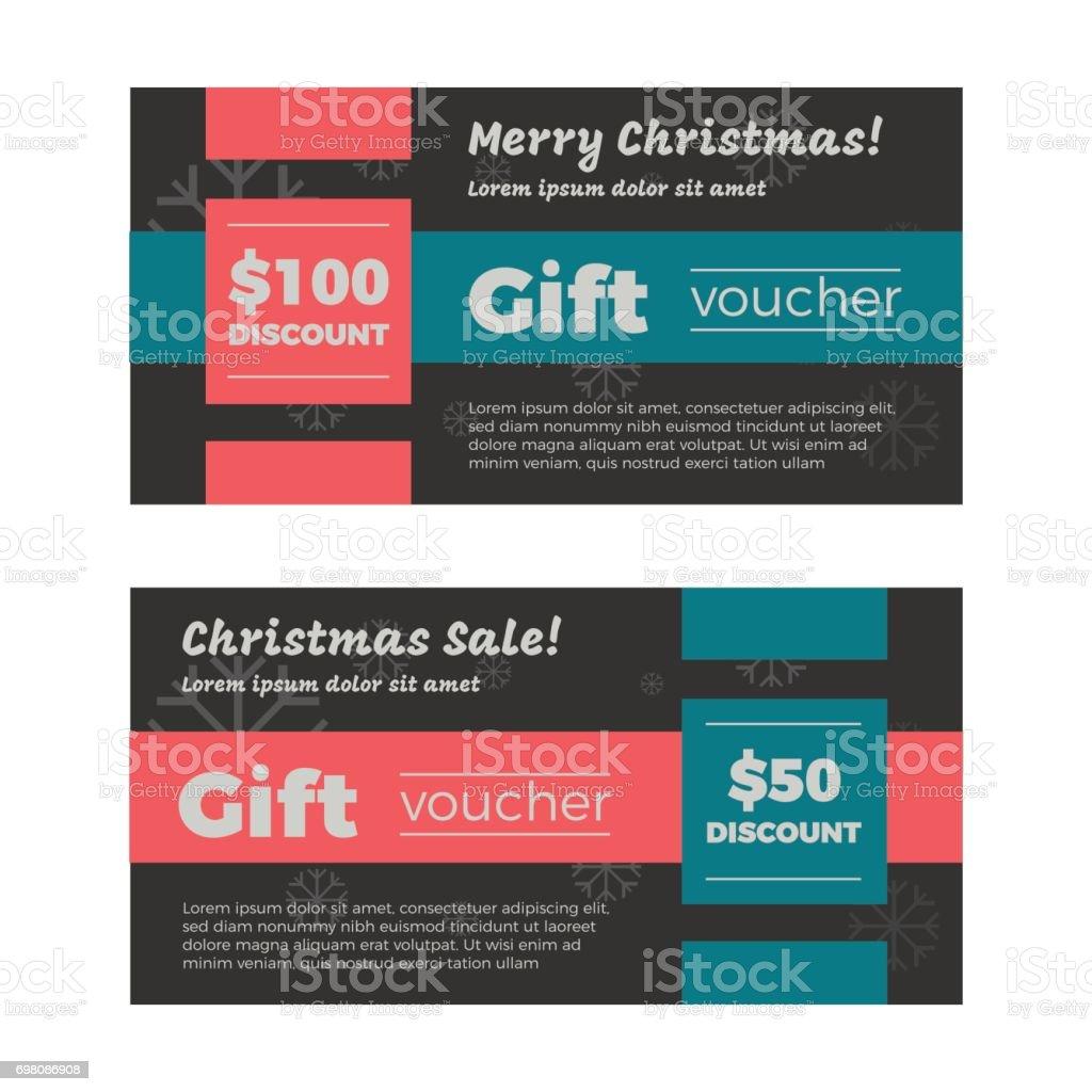 クリスマス ギフト券またはカード アイコンのベクターアート素材や画像