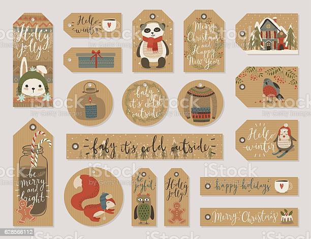Christmas gift tags set hand drawn style vector id628566112?b=1&k=6&m=628566112&s=612x612&h=mywcwwjl2j5ka4zd nhc6z xxfgen8degh 4wy12b5w=