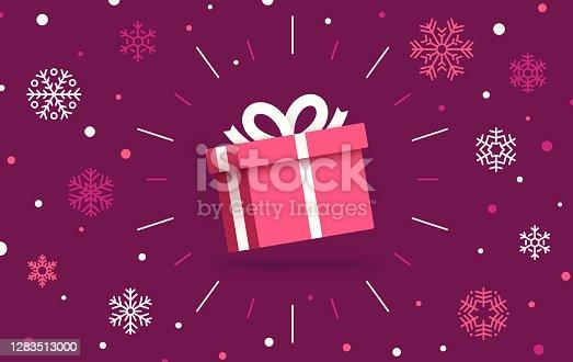 istock Christmas Gift 1283513000