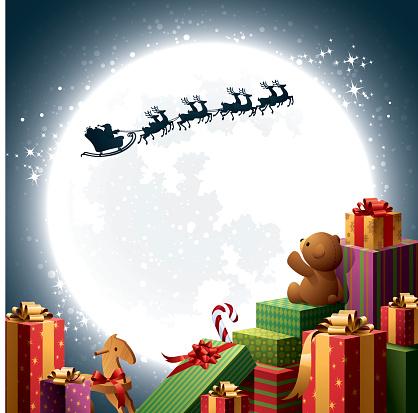 Christmas Gifts - Santa Sleigh