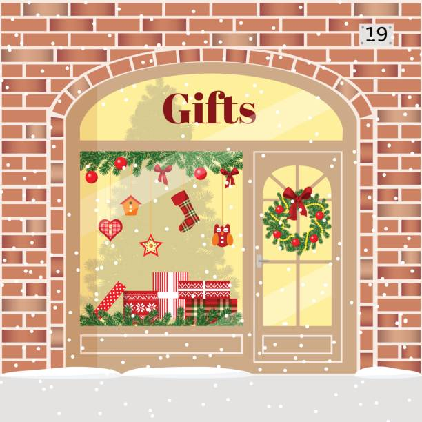 Top Gift Shop Clip Art, Vector Graphics And Illustrations