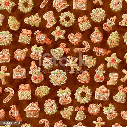Imagenes De Galletas De Navidad Animadas.ᐈ Imagen De Navidad Pan De Jengibre Galletas De Patrones