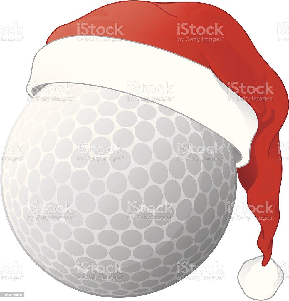 Christmas Golf Ball royalty-free christmas golf ball stock vector art & more images of celebration event