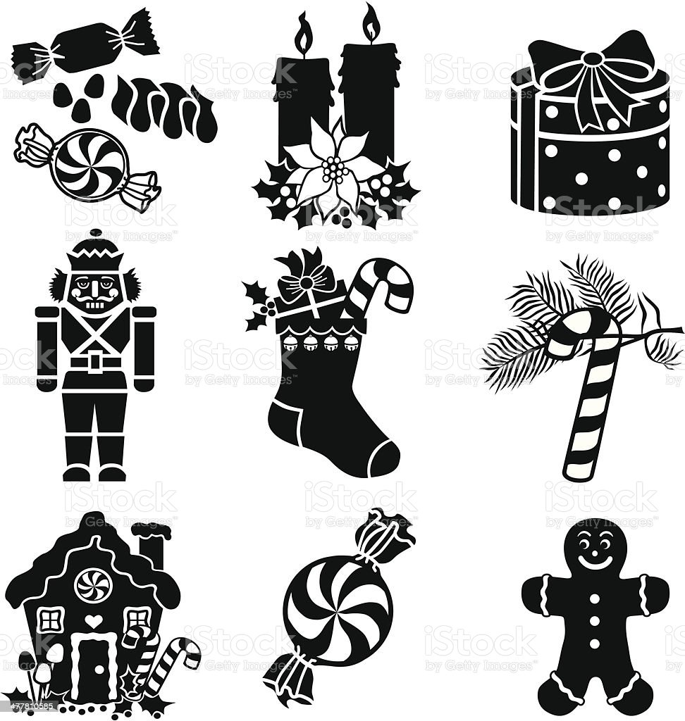 Christmas goodies royalty-free stock vector art