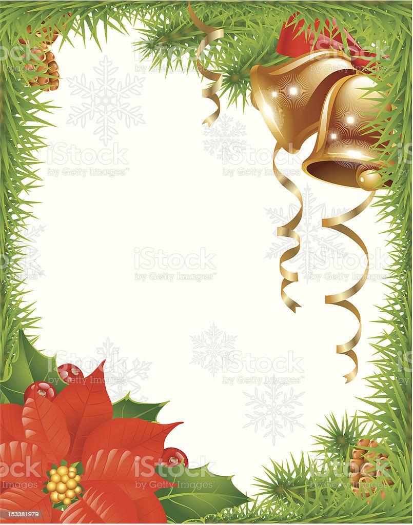 Christmas greeting card 2 royalty-free stock vector art