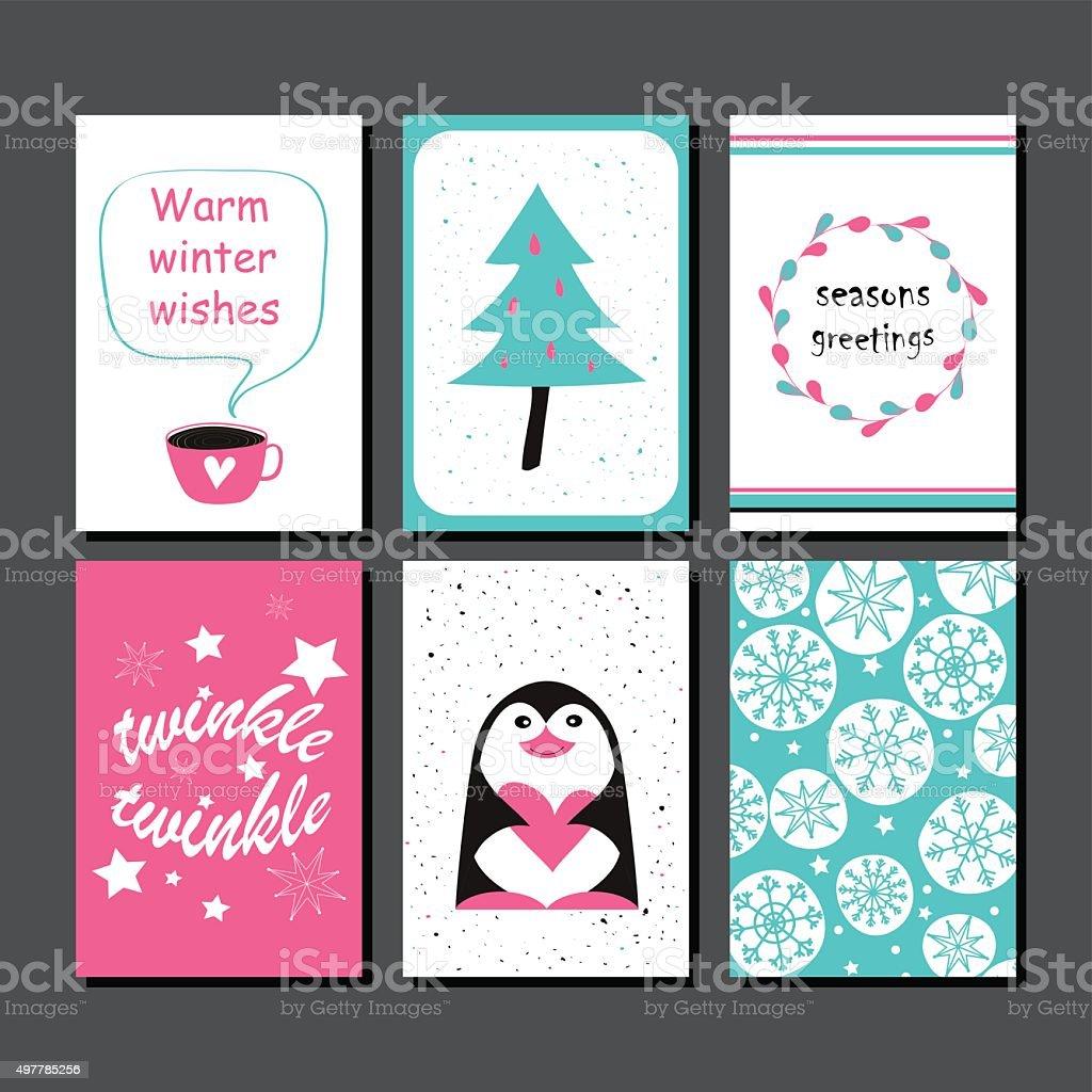 Christmas greeting card collection stock vector art more images of christmas greeting card collection royalty free christmas greeting card collection stock vector art amp m4hsunfo