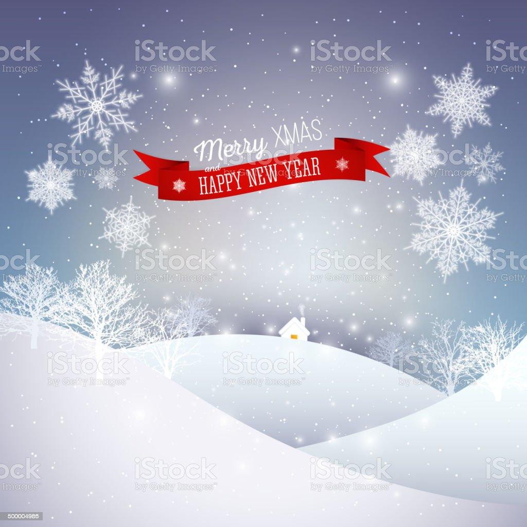 Carte De Voeux De Noel Joyeux Noel Et Bonne Annee Vector Cliparts