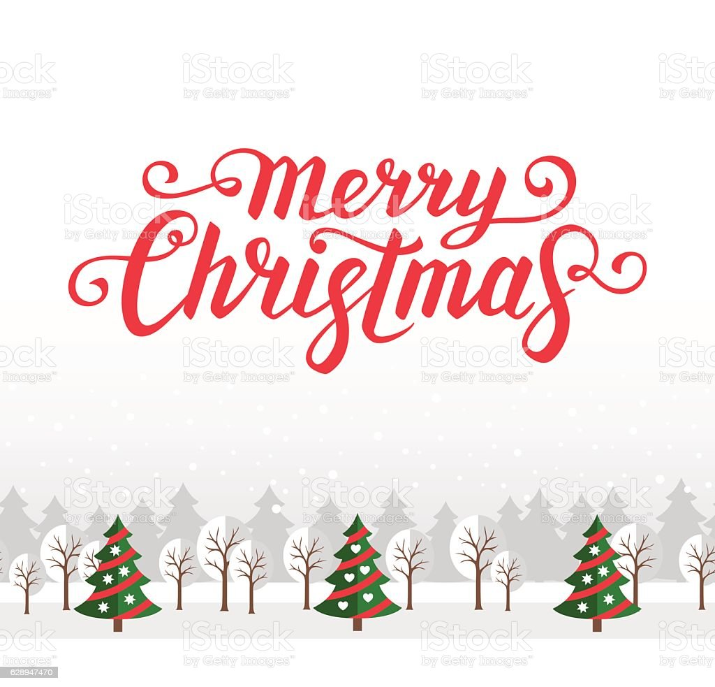 christmas greeting card template stock vector art more images of