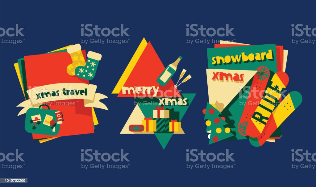 christmas greeting card vector background banner holidays winter xmas hand draw congratulation new year 2019 website