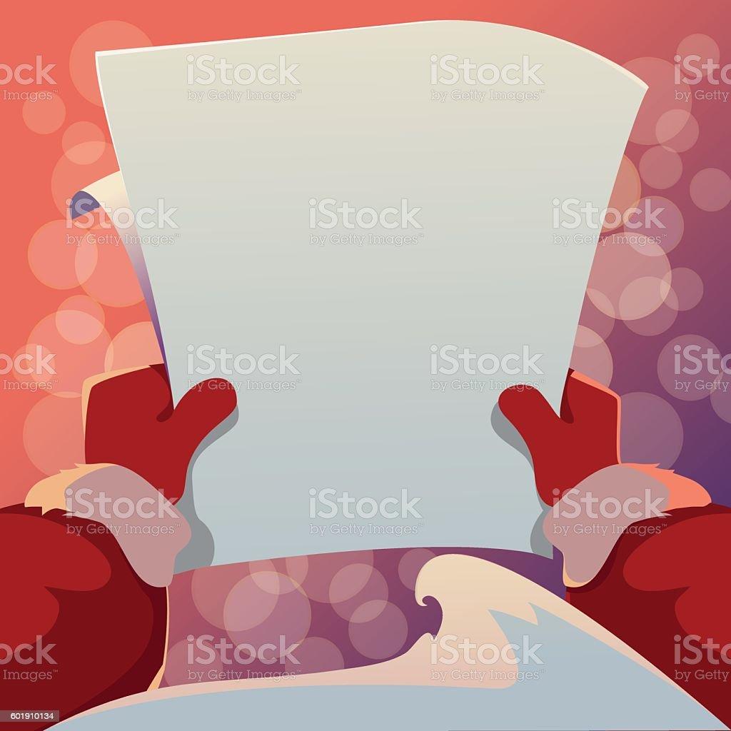 Christmas Greeting Card. Vector cartoon illustration vector art illustration