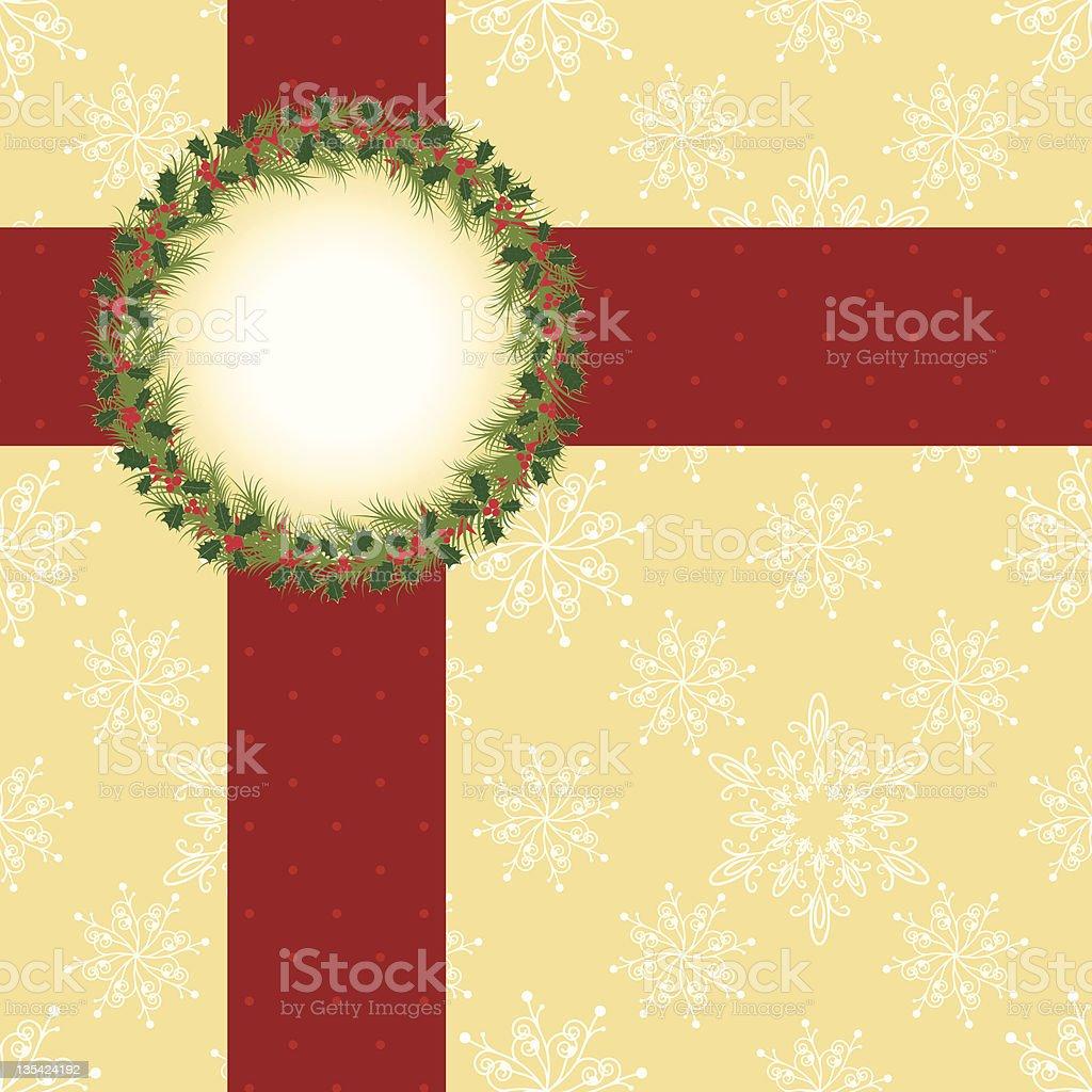 Christmas greeting card royalty-free stock vector art
