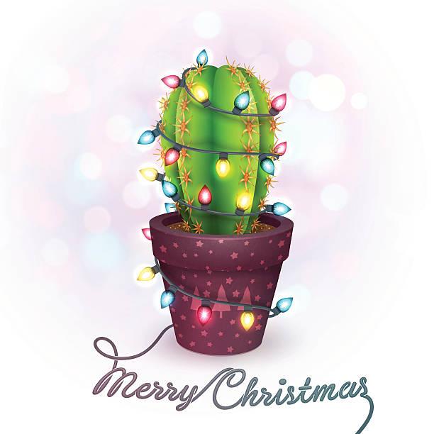 christmas greeting card vector art illustration