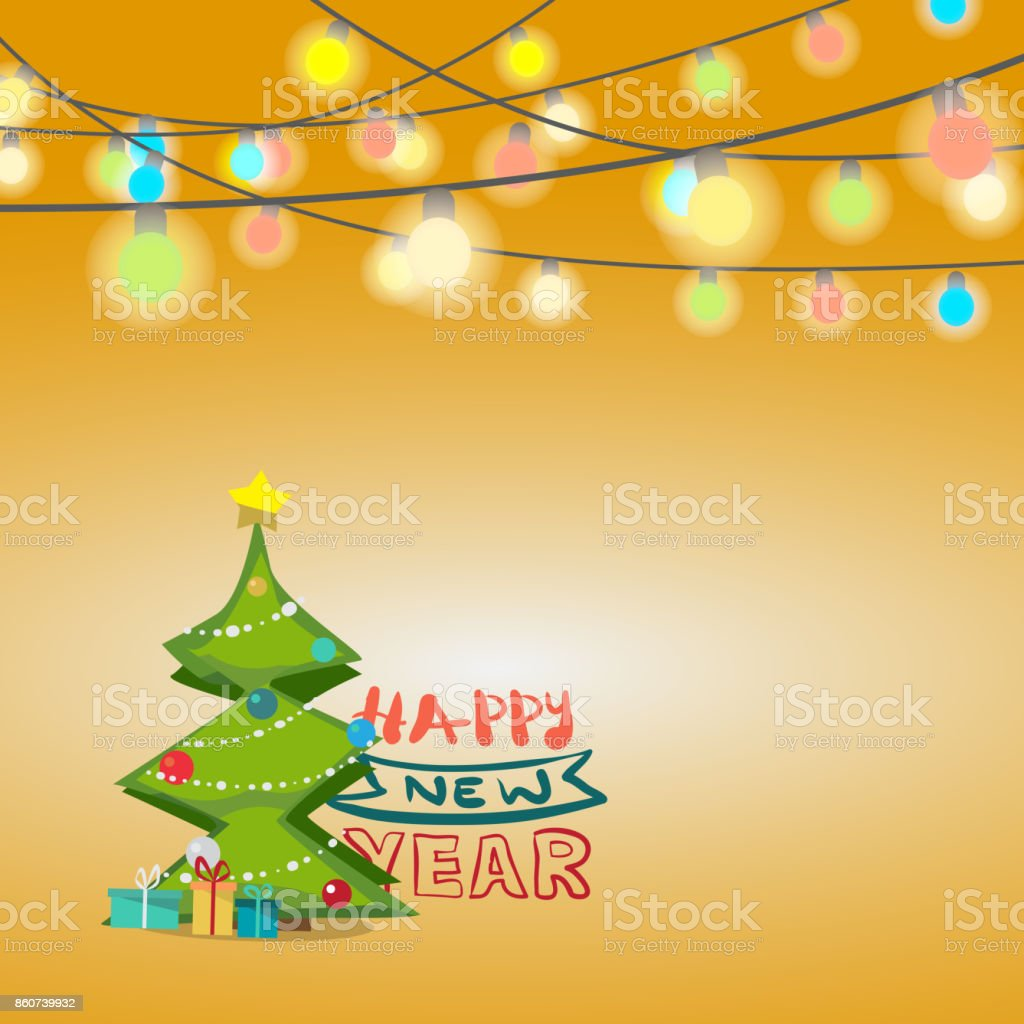 Christmas Greeting Card Stock Vector Art More Images Of Bright