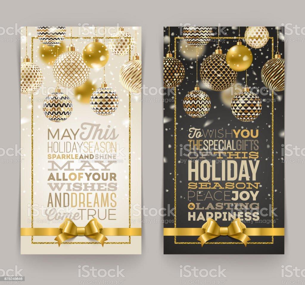 Christmas greeting card christmas greeting card - immagini vettoriali stock e altre immagini di arredamento royalty-free