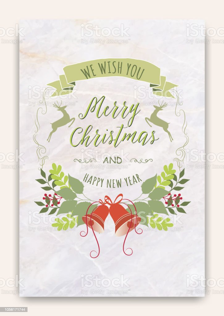 Cute Christmas Cards.Christmas Greeting Cardcute Christmas Cards Vector Stock Illustration Download Image Now